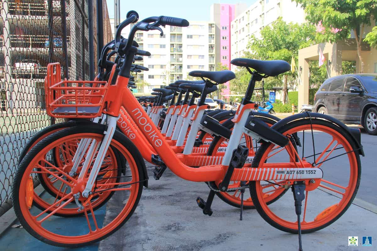 Mobike จักรยานอัจฉริยะ