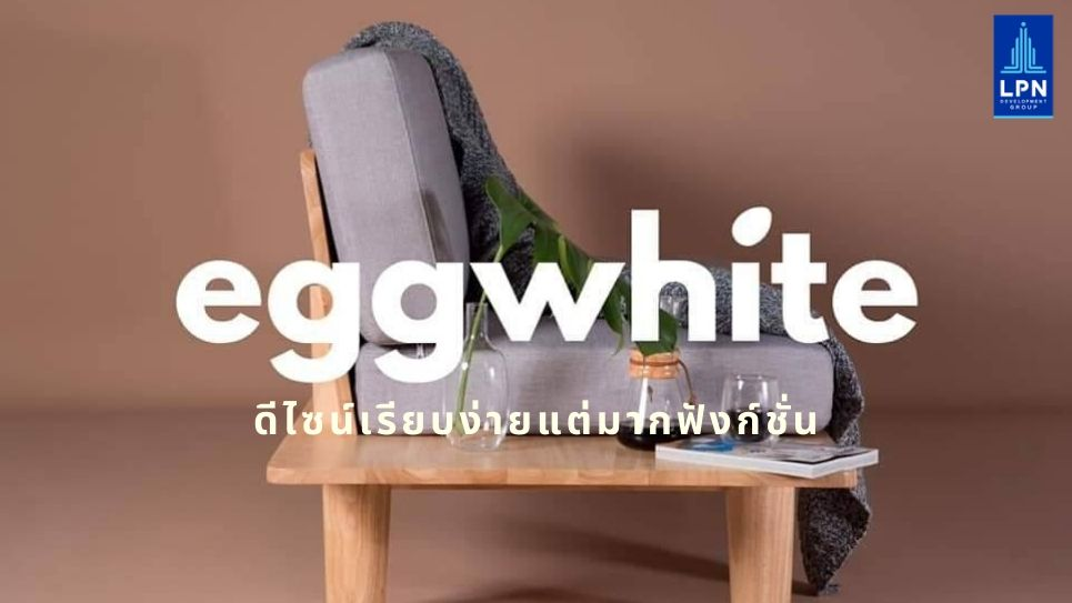EGGWHITE ดีไซน์เรียบง่ายแต่มากฟังก์ชั่น